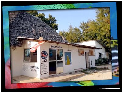 Booking office Fun Divers Zanzibar in Nungwi