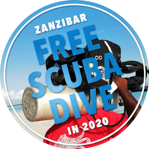 Diving Zanzibar 2020, Special Offer, Free Scuba Dive, Fun Divers Zanzibar
