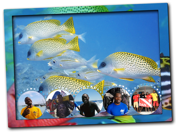 Scuba diving in Zanzibar, the best diving season, diving conditions in March, April and May, local weather, visibility peak, water temperatures, sea life, best dive sites to explore, scuba deals and local diving recommended in Zanzibar North